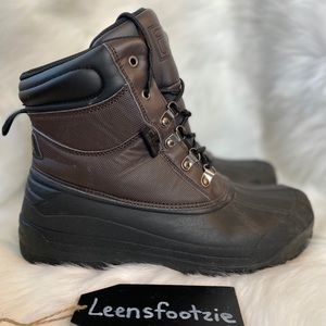 Fila Mens Waterproof Snow Boots